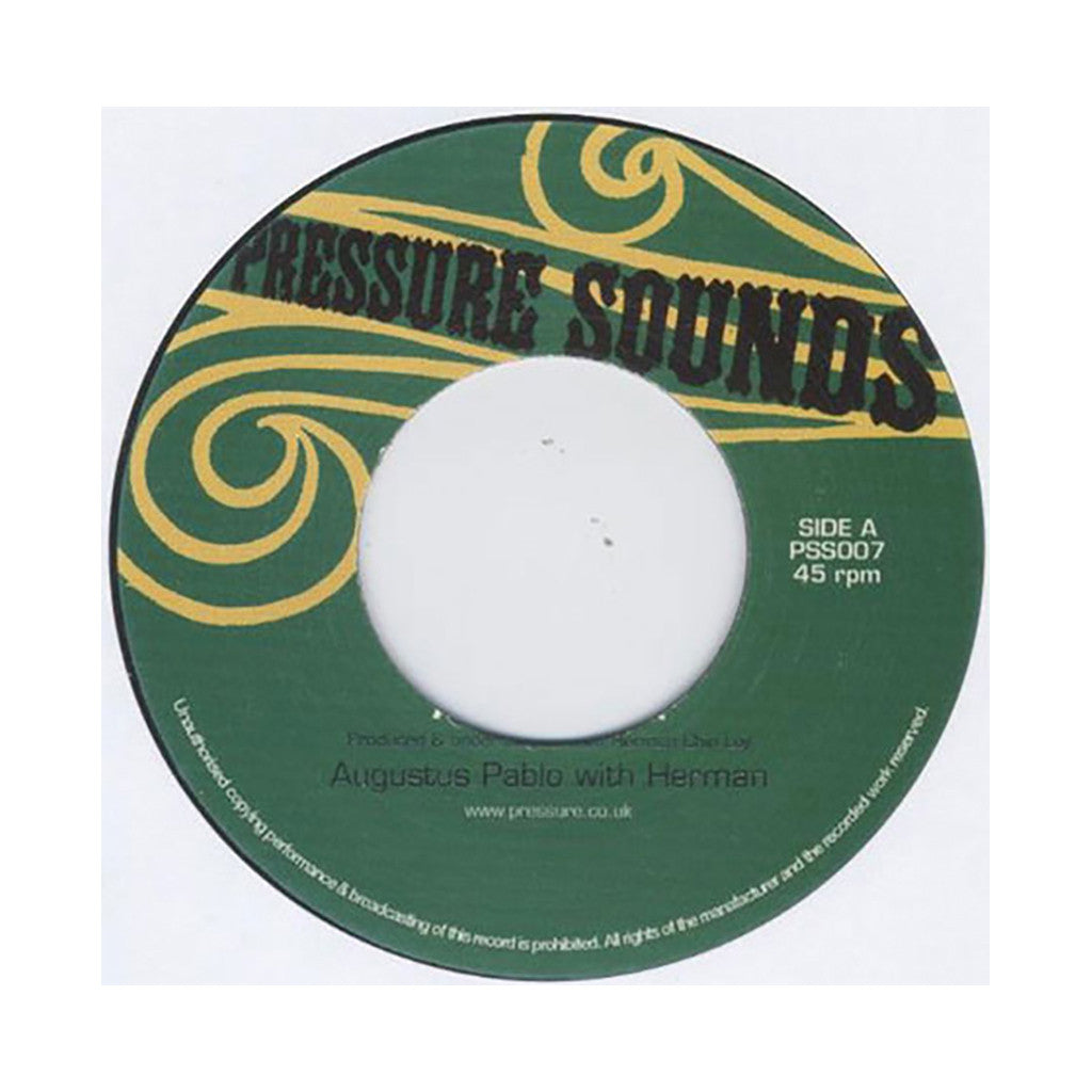 "<!--2010030957-->Augustus Pablo & Herman Chin Loy - 'Aquarius Rock' [(Black) 7"" Vinyl Single]"