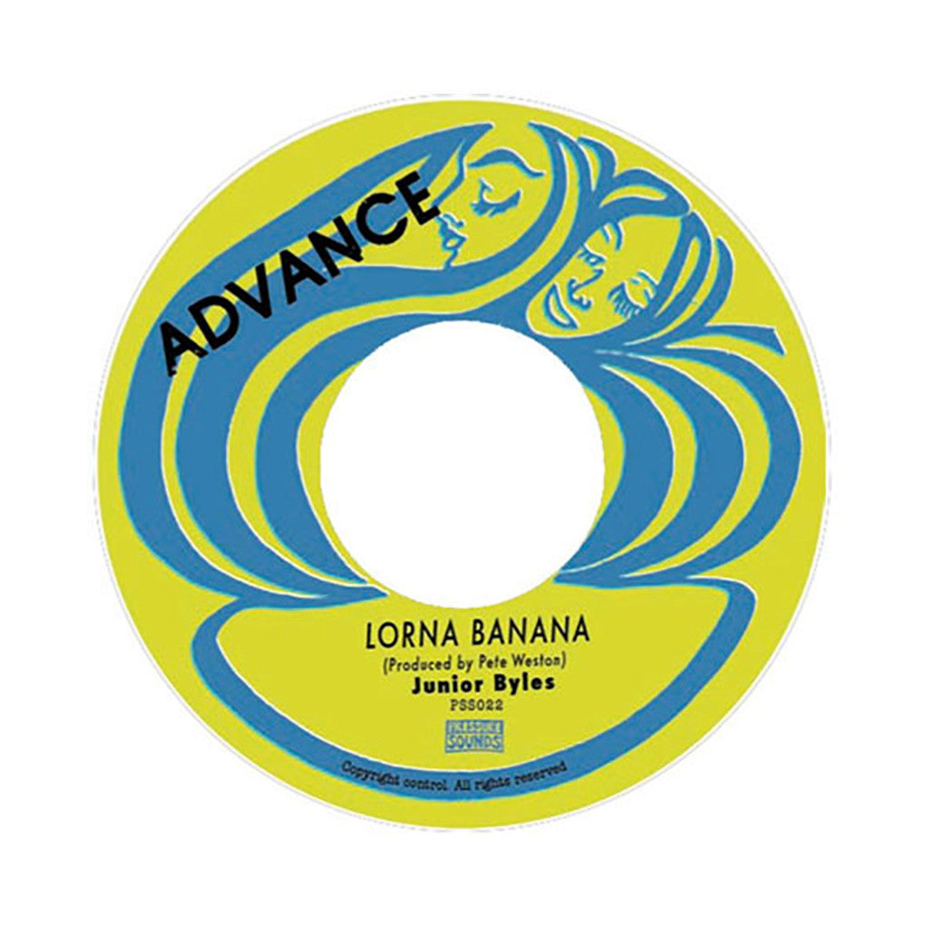 "Junior Byles - 'Lorna Banana' [(Black) 7"" Vinyl Single]"