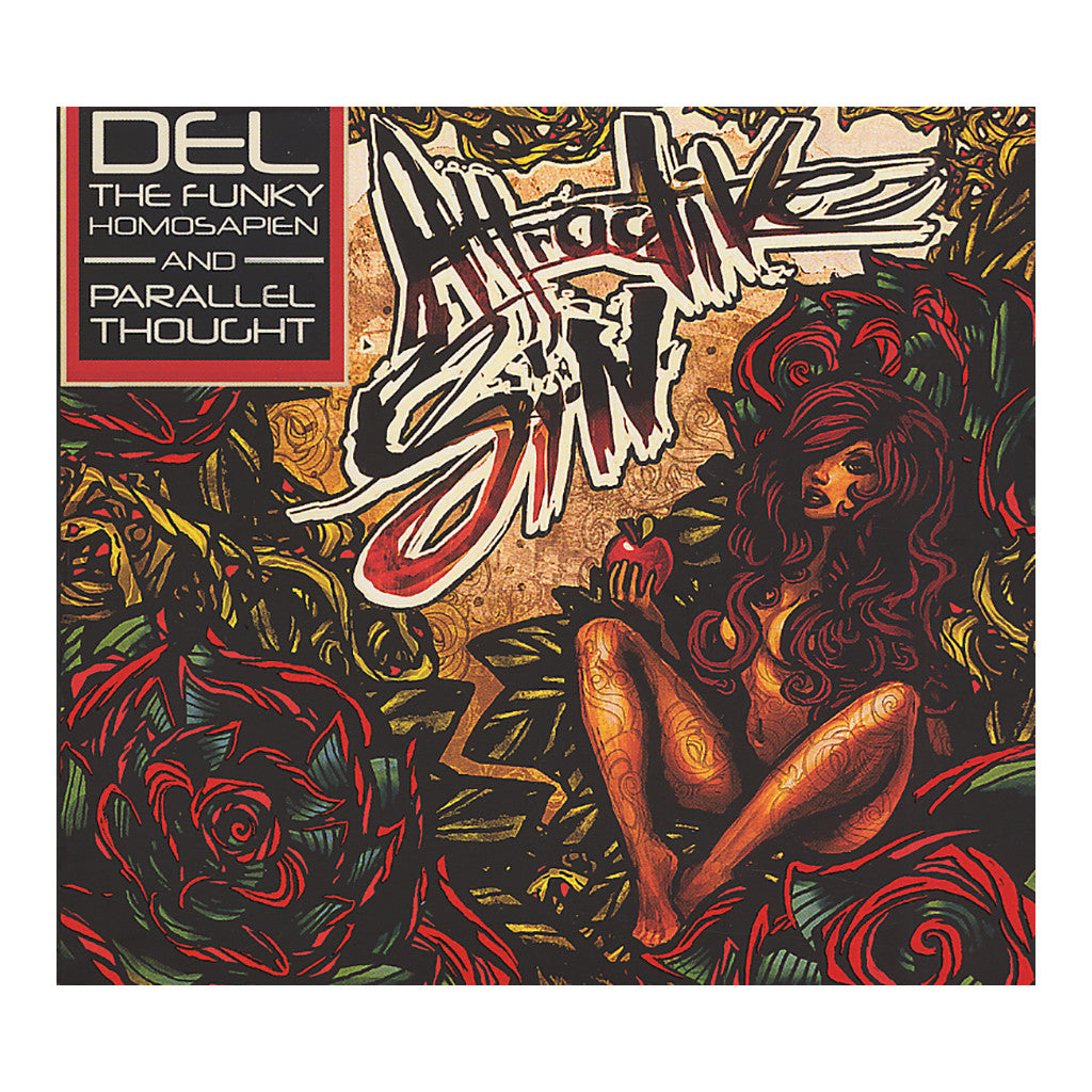 <!--020120619043323-->Del The Funky Homosapien w/ Parallel Thought - 'Attractive Sin' [CD]