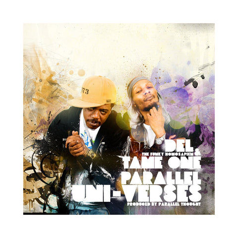 "[""Del The Funky Homosapien & Tame One - 'Parallel Uni-Verses' [(Purple Haze) Vinyl LP]""]"