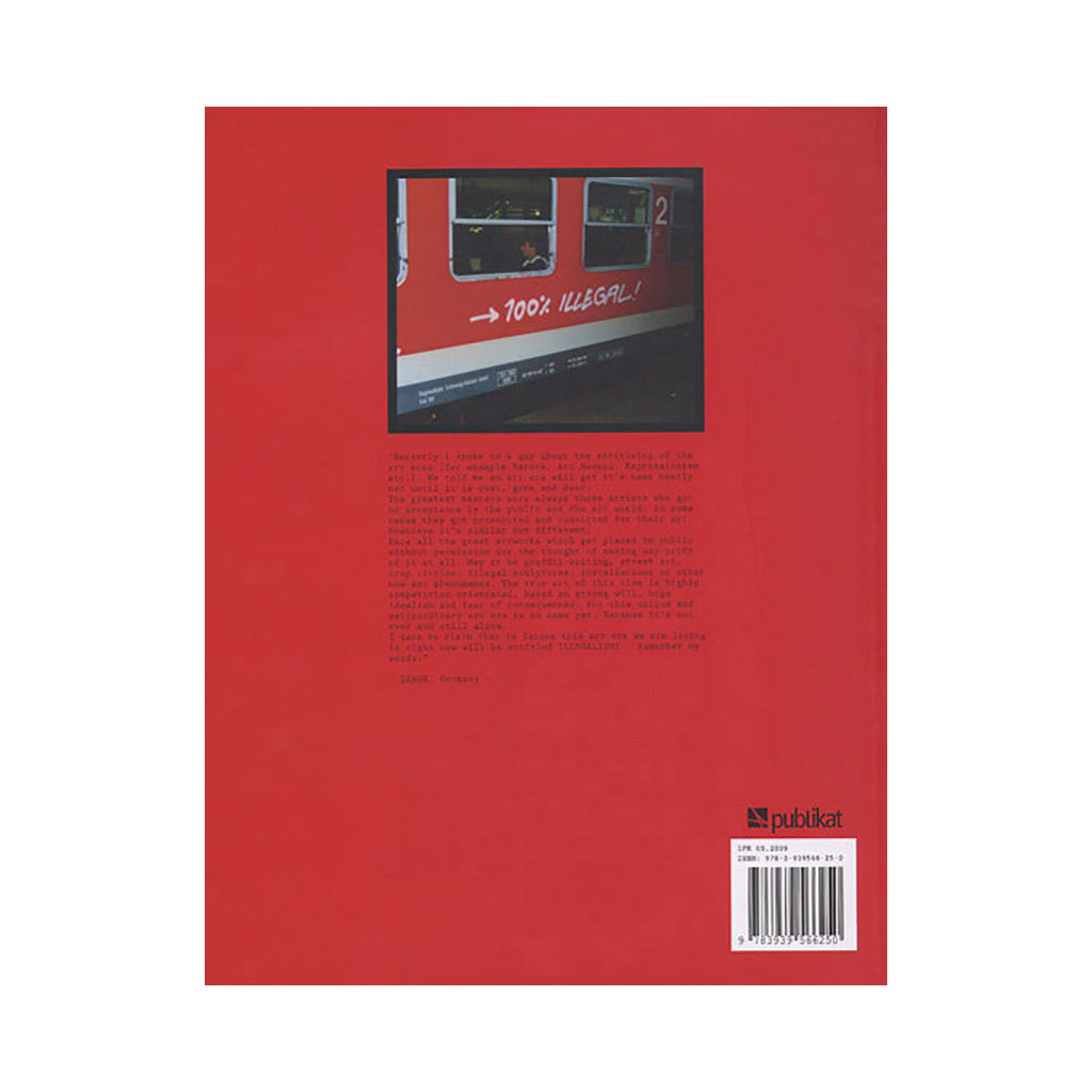 <!--020090407017810-->Kristian Kutschera - 'Action Painting: Bringing Art To The Trains' [Book]