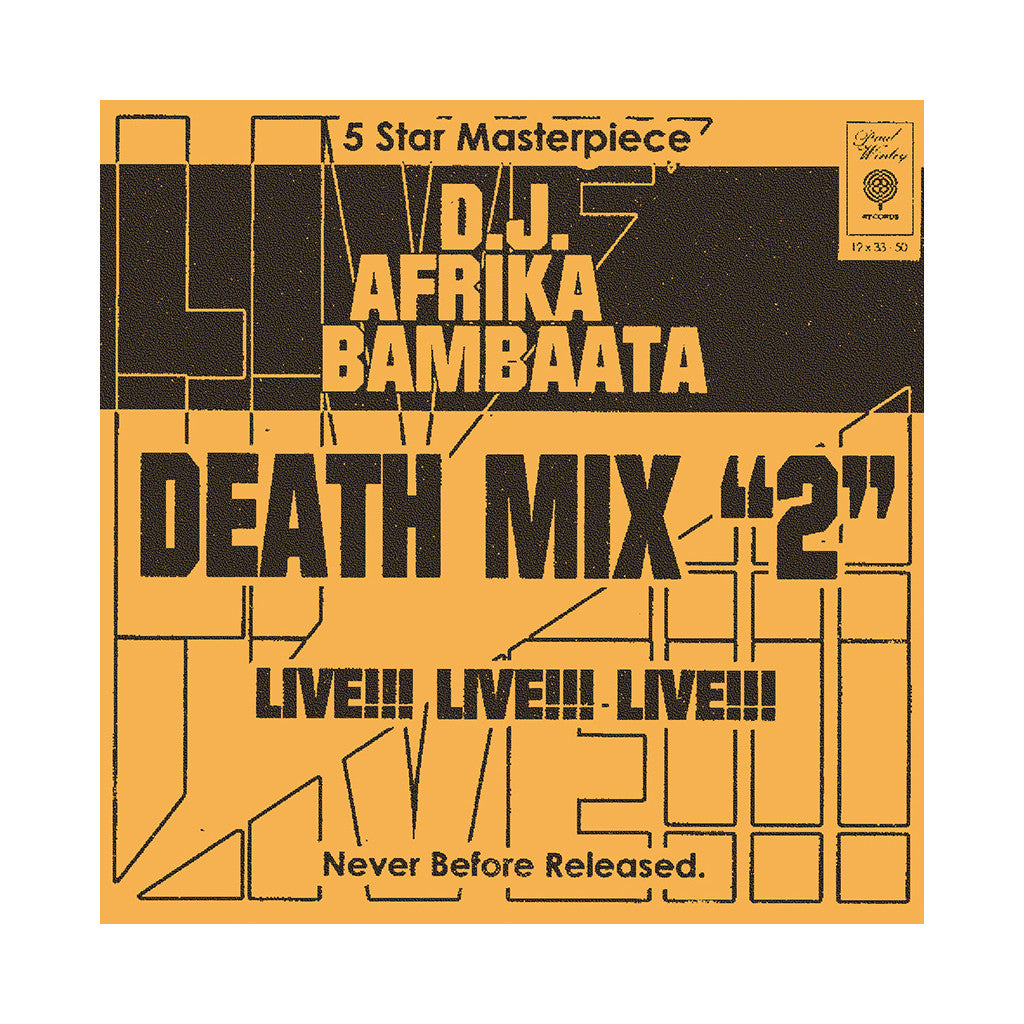 Afrika Bambaataa - 'Death Mix 2' [CD]