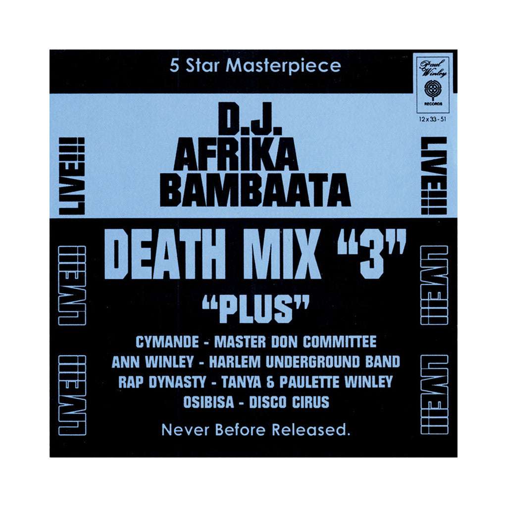<!--120070508009706-->Afrika Bambaataa - 'Death Mix 3' [CD]