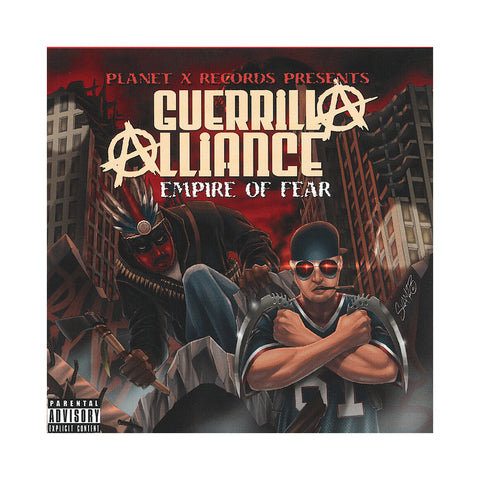 Guerrilla Alliance - 'Empire Of Fear' [CD]