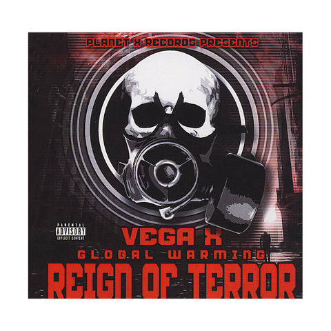 Vega X - 'Global Warming: Reign of Terror' [CD]