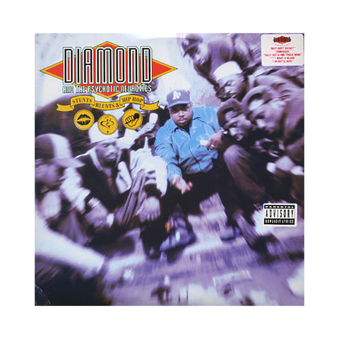 Diamond & The Psychotic Neurotics - 'Stunts, Blunts & Hip Hop' [(Black) Vinyl [2LP]]