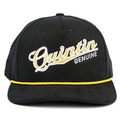<!--020140819065362-->Quintin - 'Genuine' [(Black) Strap Back Hat]