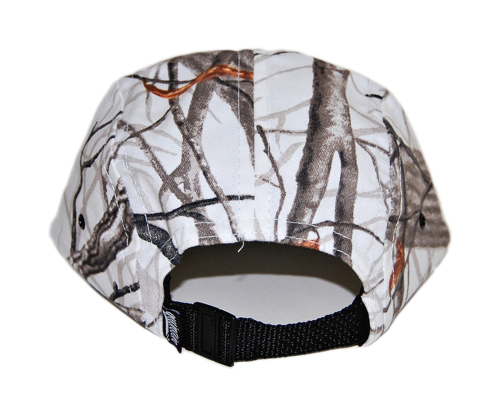 <!--020131022060509-->Quintin - 'Blind - Snow Camo' [(White) Five Panel Camper Hat]