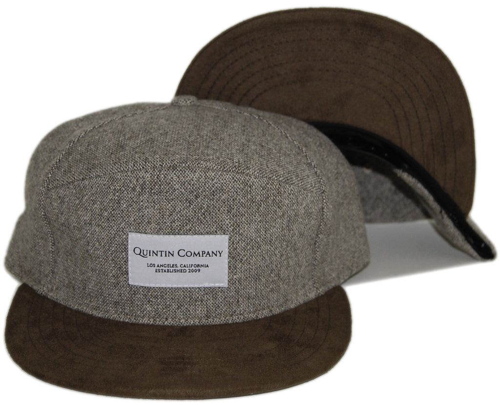 <!--020131022060506-->Quintin - 'Silvester' [(Light Brown) Snap Back Hat]