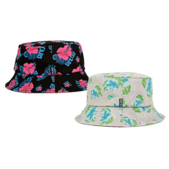 <!--2014072941-->Quintin x In4mation - 'Paradise 2 - (REVERSIBLE)' [(Multi-Color) Bucket Hat]