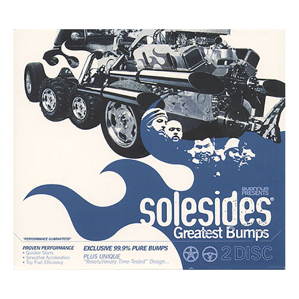 <!--020000104018600-->Solesides - 'Greatest Bumps' [CD [2CD]]