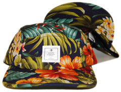 <!--020130618057539-->Quintin - 'Paradise Pack - Navy' [(Multi-Color) Five Panel Camper Hat]
