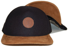 <!--020121120051367-->Quintin - 'Harrison' [(Black) Snap Back Hat]