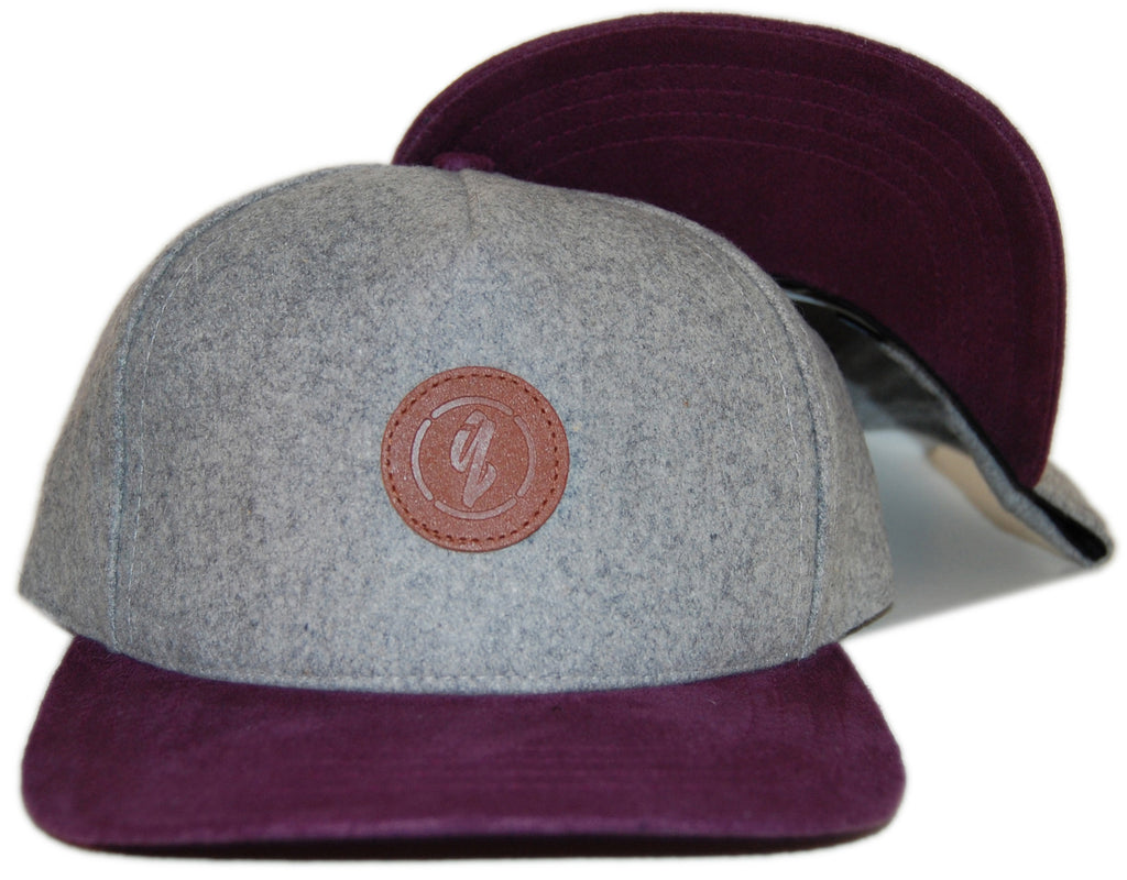 <!--020121120051366-->Quintin - 'Harrison' [(Gray) Snap Back Hat]