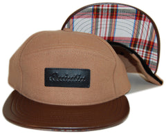 <!--020121120051364-->Quintin - 'Huck' [(Light Brown) Snap Back Hat]