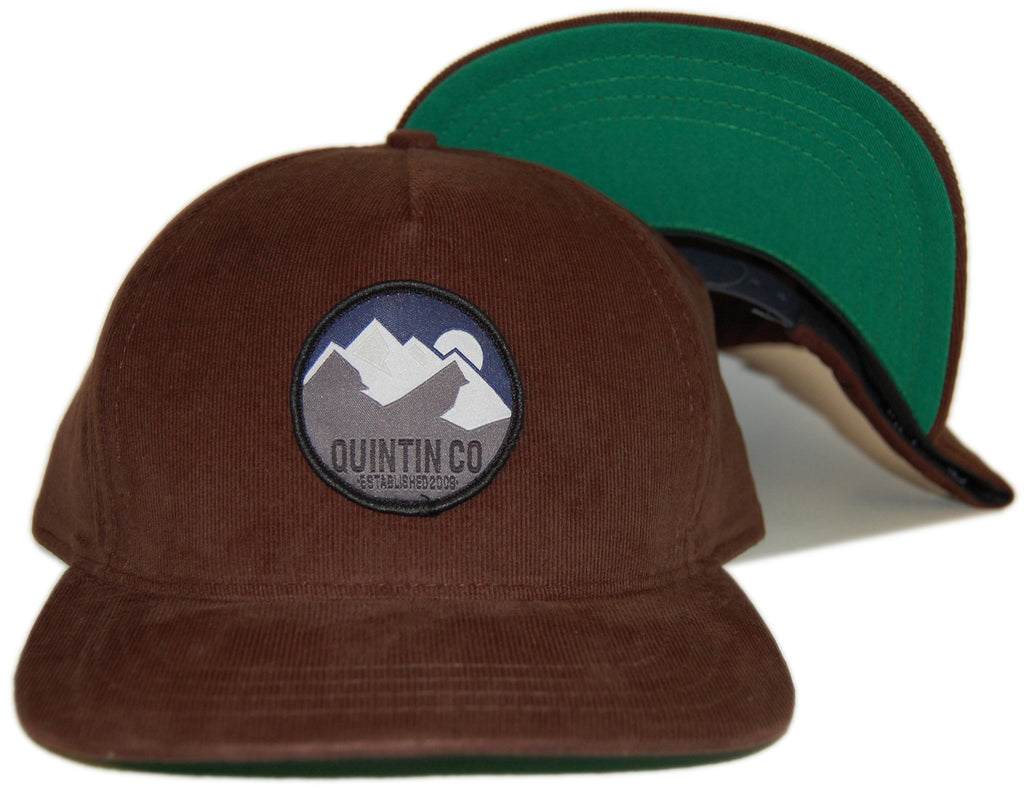 <!--020121120051363-->Quintin - 'Kinley' [(Dark Brown) Snap Back Hat]