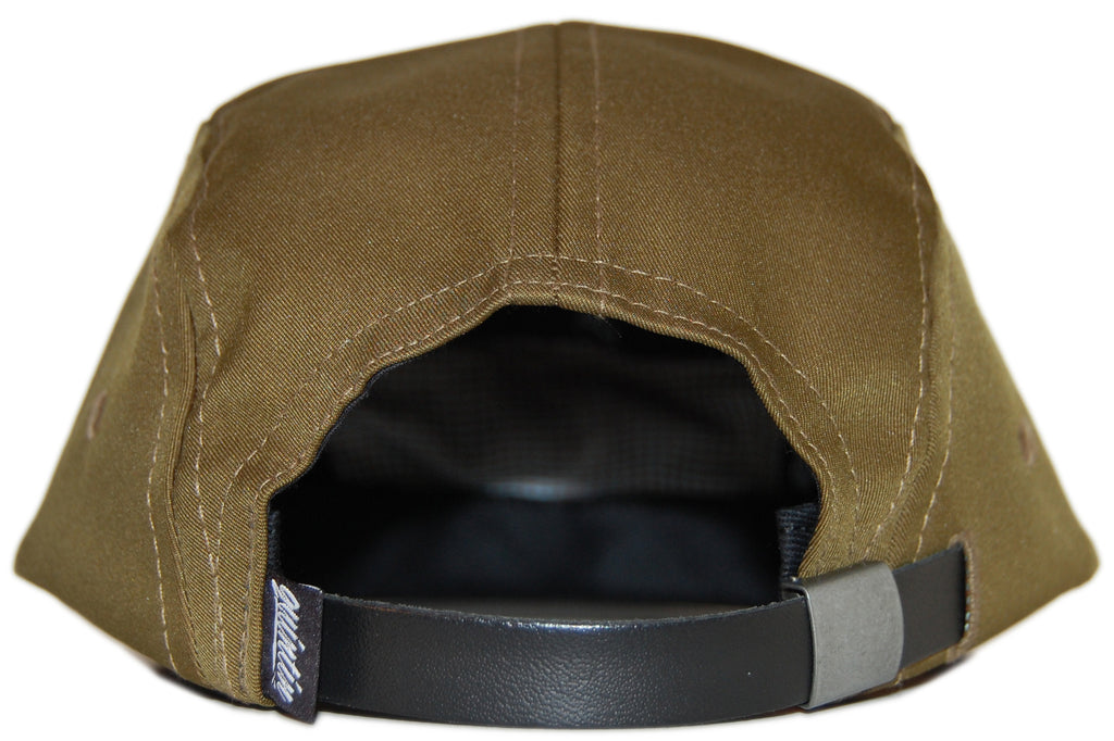 <!--020120522045068-->Quintin - 'Merced - Earth' [(Dark Green) Five Panel Camper Hat]