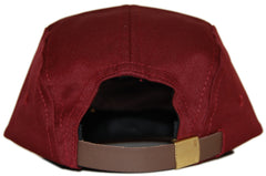 Quintin - 'Merced - Fire' [(Dark Red) Five Panel Camper Hat]