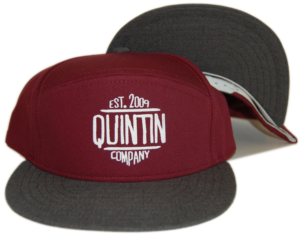 <!--020121120051360-->Quintin - 'Old Timer' [(Dark Red) Snap Back Hat]