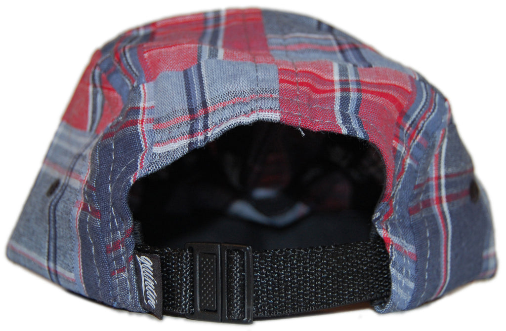 <!--020120522045066-->Quintin - 'Social - Americana' [(Blue) Five Panel Camper Hat]