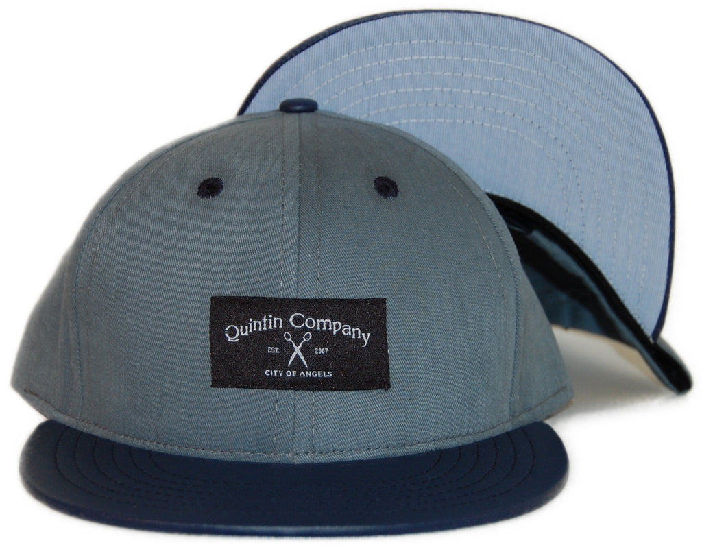 <!--020120228041912-->Quintin - 'Ave 26 - Granite' [(Dark Gray) Snap Back Hat]