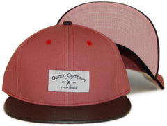 <!--020120228041913-->Quintin - 'Ave 26 - Clay' [(Light Red) Snap Back Hat]