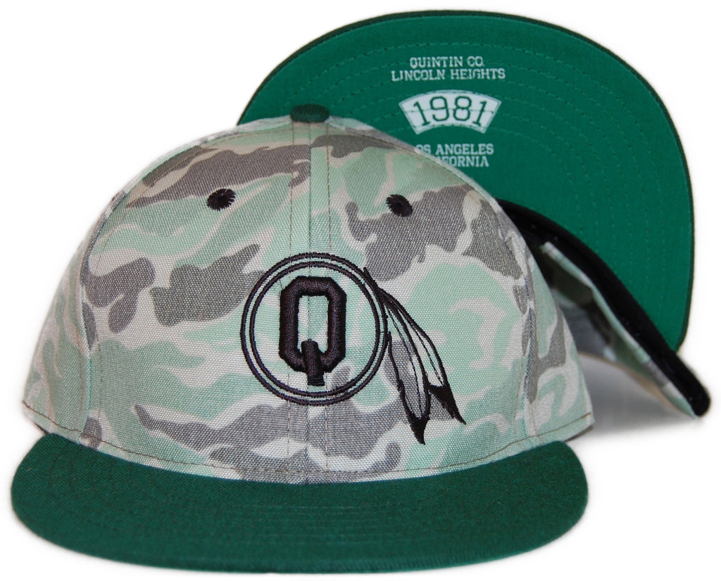 Quintin - 'Braves - Korean Camo' [(Green) Snap Back Hat]