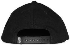 <!--020120228041909-->Quintin - 'Collegiate' [(Black) Snap Back Hat]