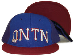 <!--020120228041908-->Quintin - 'Collegiate - Royal & Red' [(Blue) Snap Back Hat]