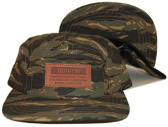 <!--020130604056873-->Quintin - 'Addy - Tigerstripe' [(Camo Pattern) Five Panel Camper Hat]