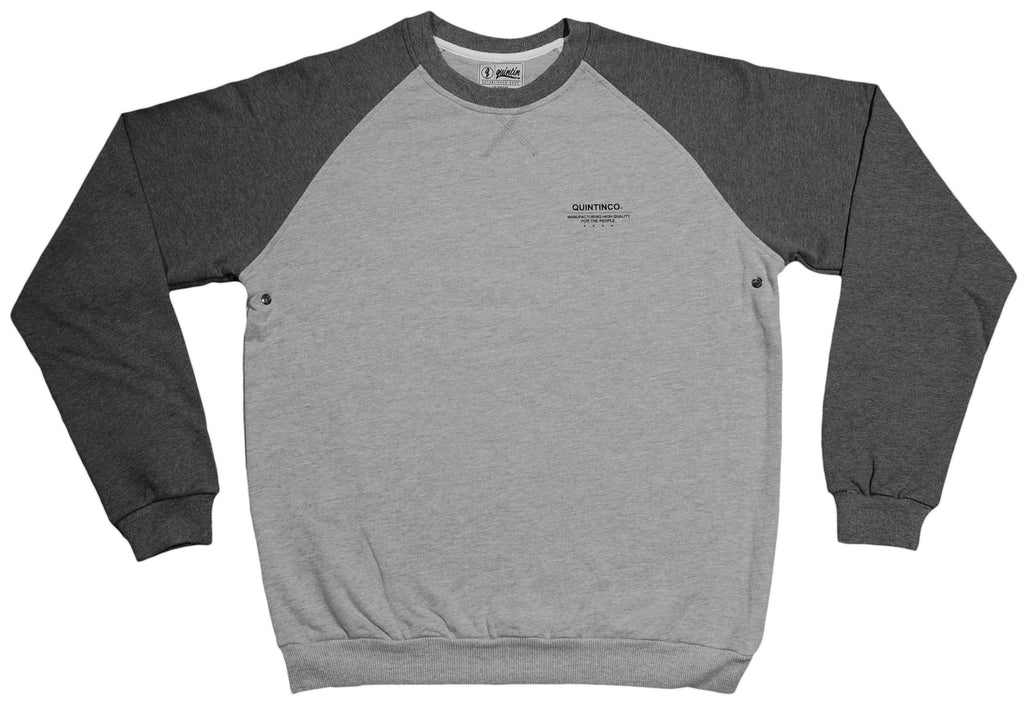 <!--2013080639-->Quintin - 'Crosby' [(Light Gray) Crewneck Sweatshirt]