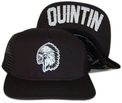 <!--020130806058722-->Quintin - 'Goodwin' [(Black) Snap Back Hat]