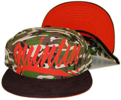 <!--020130604056871-->Quintin - 'Large Hit' [(Camo Pattern) Snap Back Hat]