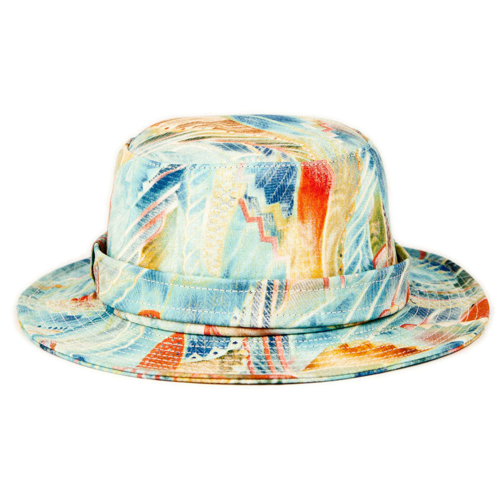 <!--2013080631-->Quintin - 'Peacock' [(Multi-Color) Bucket Hat]