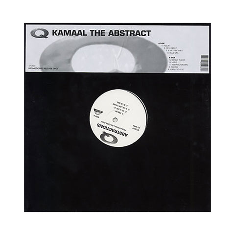 Kamaal The Abstract - 'Abstractions (Unreleased Promo)' [(Black) Vinyl LP]