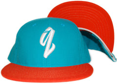 <!--020110830034472-->Quintin - 'Basic - Dolphins' [(Light Blue) Snap Back Hat]