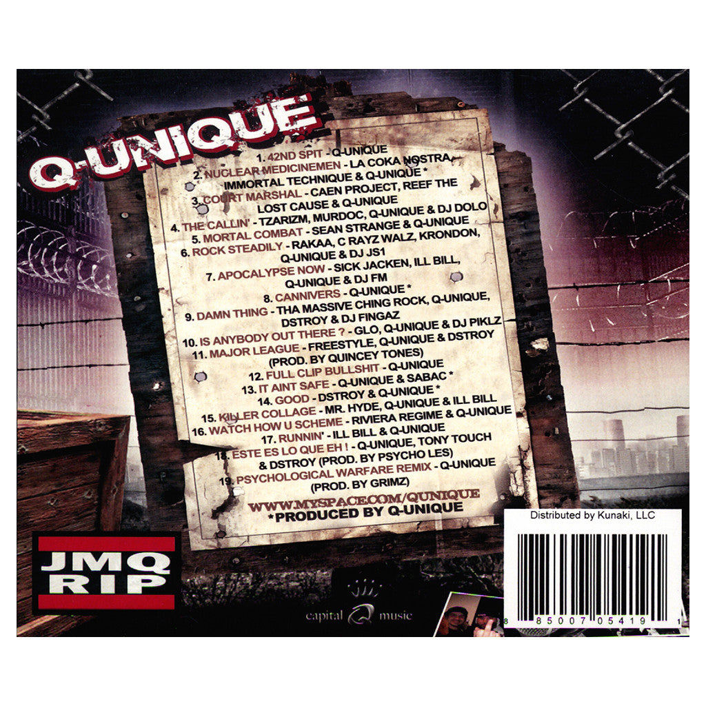 Q-Unique - 'The Collabo Tapes Vol. 2' [CD]
