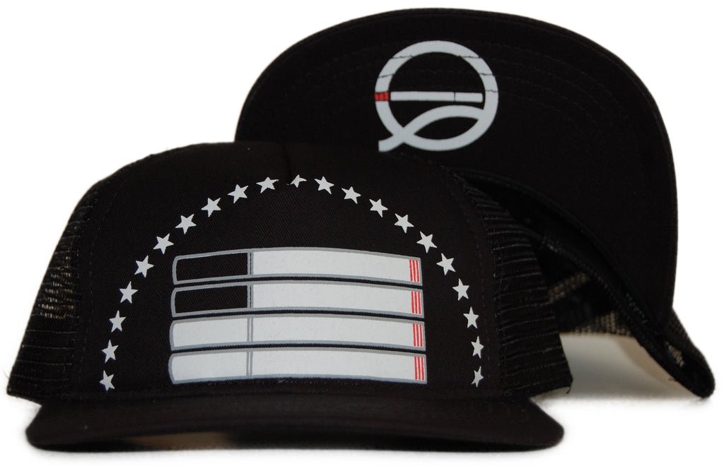Quintin - 'Smoke Free' [(Black) Snap Back Hat]