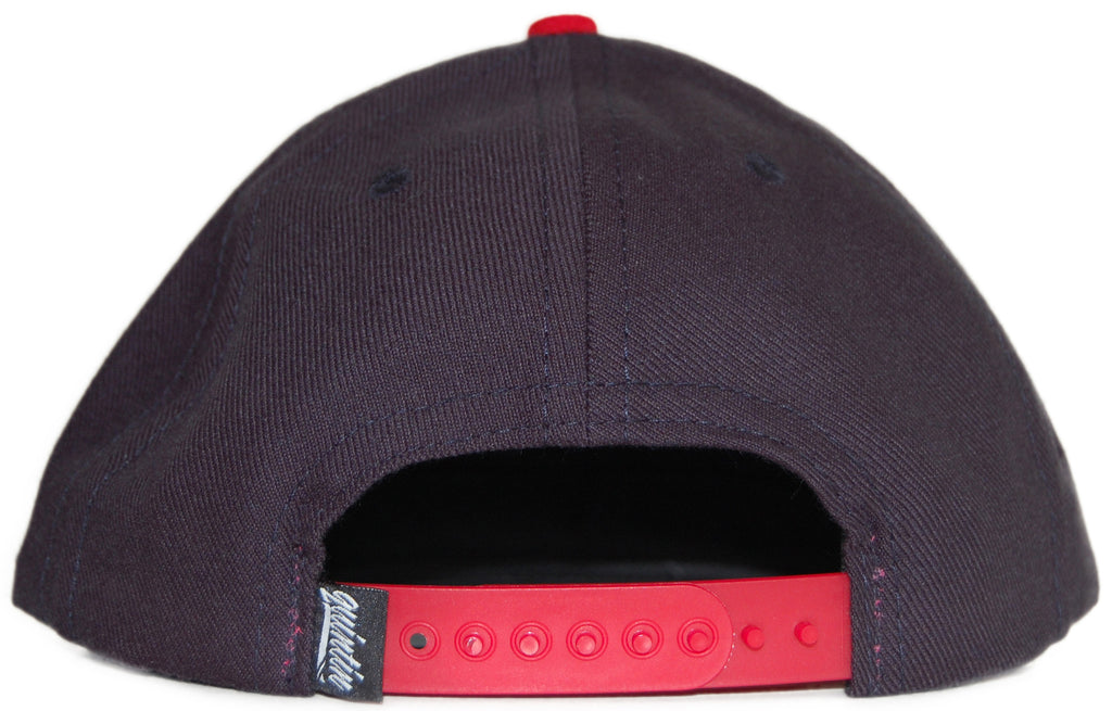 <!--020111122038487-->Quintin - 'Collegiate' [(Dark Blue) Snap Back Hat]