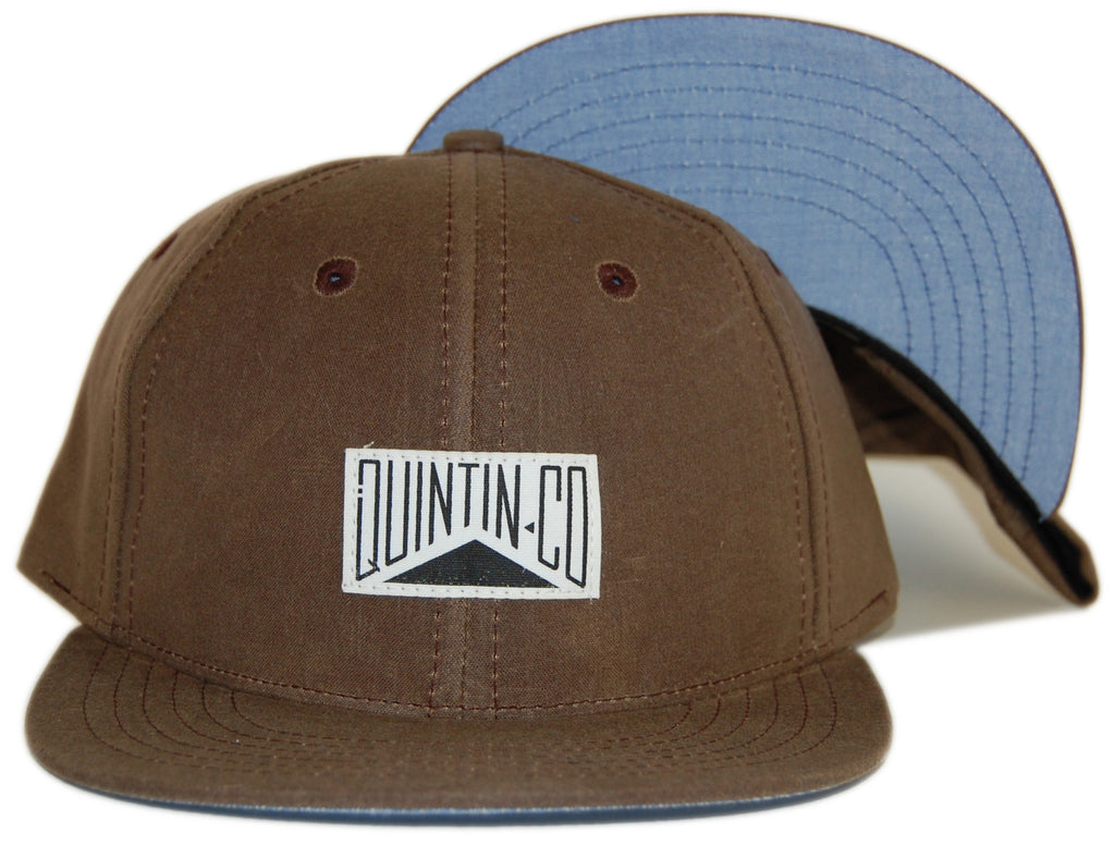<!--020120814048129-->Quintin - 'Newcomb' [(Brown) Snap Back Hat]