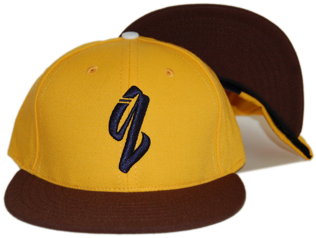 <!--020120814048130-->Quintin - 'New Castle' [(Dark Yellow) Snap Back Hat]