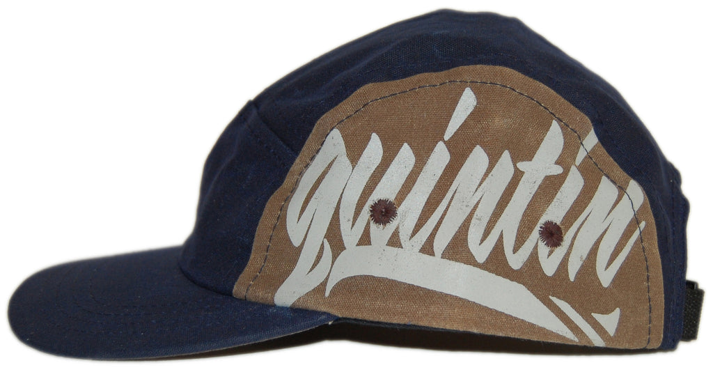 <!--020120814048135-->Quintin - 'Peter' [(Dark Blue) Five Panel Camper Hat]