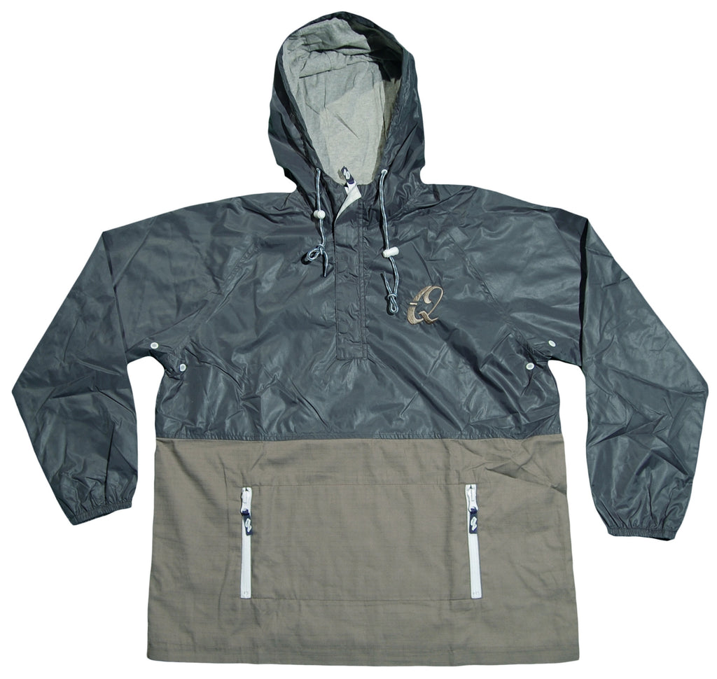 <!--2012081438-->Quintin - 'Subtle Windbreaker' [(Dark Green) Jacket]