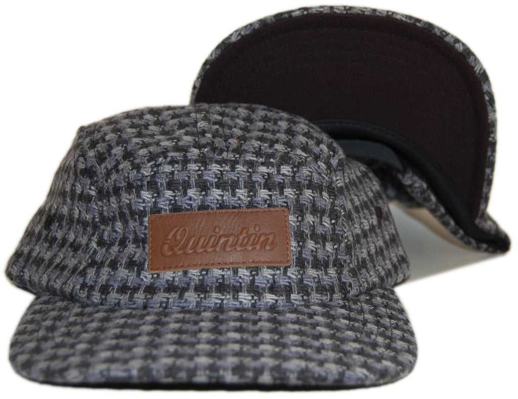 <!--020120814048133-->Quintin - 'William - 5 Panel' [(Dark Gray) Five Panel Camper Hat]