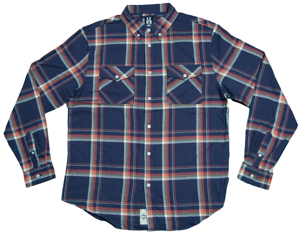 REBEL8 - 'Young American' [(Dark Blue) Button Down Shirt]