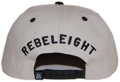 <!--020130402055407-->REBEL8 - 'Overboard' [(Natural) Snap Back Hat]