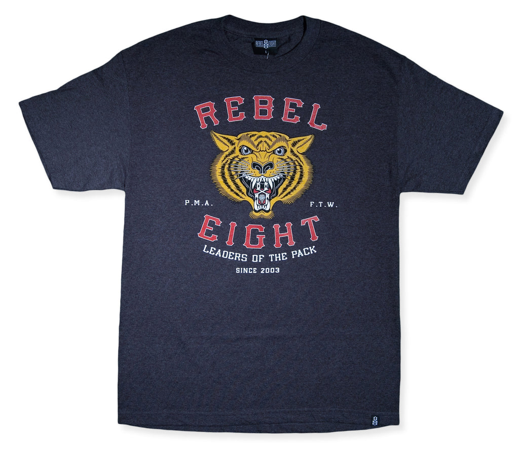 <!--2014032032-->REBEL8 - 'Leaders Of The Pack' [(Dark Gray) T-Shirt]