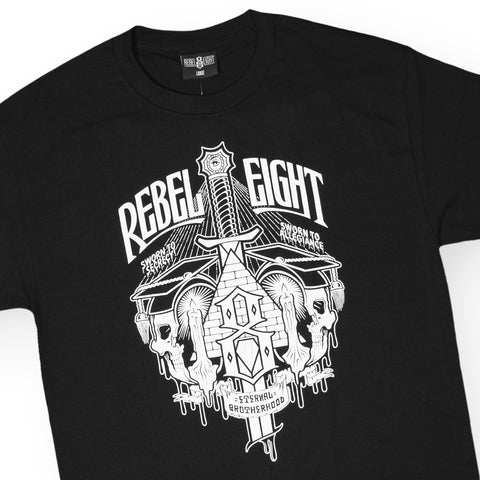 REBEL8 - 'Secret Allegiance' [(Black) T-Shirt]