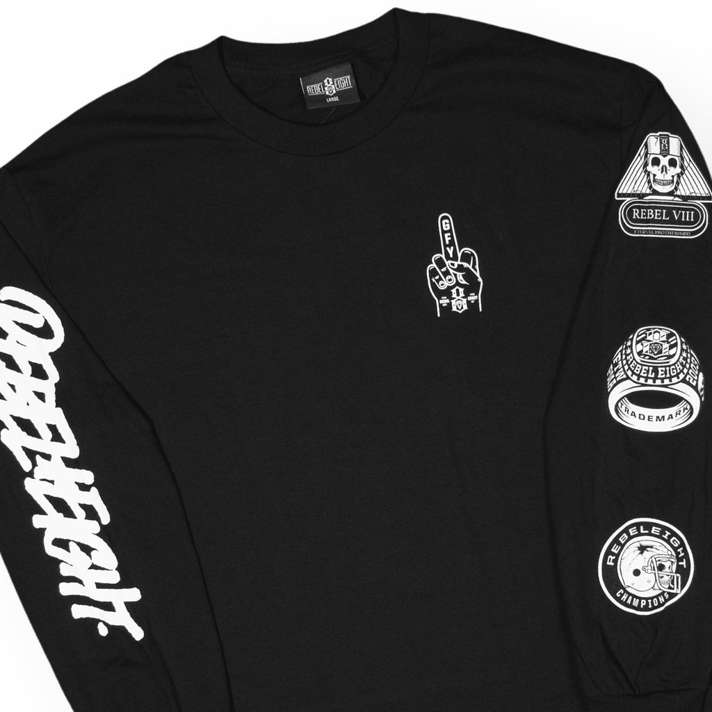 REBEL8 - Forever Fucked - Long Sleeve Shirt - image b8193a380