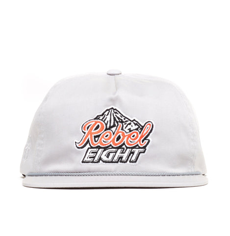 REBEL8 - 'Tap The Rockies' [(Light Gray) Snap Back Hat]
